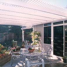 Covered Patio and Garden Room