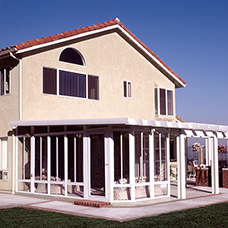 Enclosed Garden Room and Patio Cover