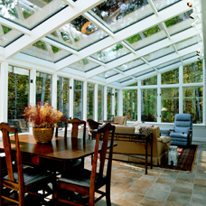 Straight Sunroom